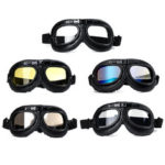 New              Windproof Vintage Helmet Goggles Motorcycle Scooter ATV Cycling Riding Eyewear Glasses