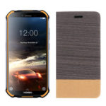 New              For Doogee S40 Case Bakeey Flip Foldable Canvas PU Leather Full Body Protective Case with Card Slot