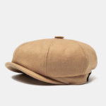 New              Unisex British Retro Beret Caps Woolen Cap
