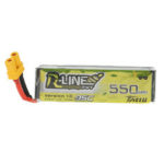 New              TATTU R-LINE V1.0 3.7V 550mAh 95C 1S Lipo Battery XT30U-F Plug for RC Dronel