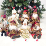 New              Xmas Santa Doll Christmas Figurine Ornament Gifts Decoration Toys