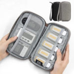 New              Boona 18cm*10.5cm Digital Accessories Storage Bag U Disk Flash Drive TF Memory Card Organizer Bag