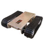 New              DIY Aluminous Smart RC Robot Car Tank Chassis Base For Single Chip UNO