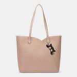 New              Women Cat Pattern Multifunction Shoulder Bag Handbag