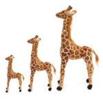 New              Plush Giraffe Kid Toys Giant Large Stuffed Animal Doll Xmas Gift 60/70/120CM