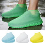 New              Luminous Waterproof Shoe Covers Silicone Non-Slip Overshoes Shoes Protector Reusable Wear-Resistant
