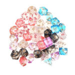 New              42Pcs Dice Set Polyhedral Dices Role Playing Game Gadget Dices