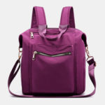 New              Women Nylon Waterproof Large Capacity Handbag Backpack