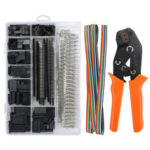 New              773pcs Wire Crimping Tool Terminal Pins Connectors Housing Cable Plier Set with 1.5M Wire Cable Crimper Plier