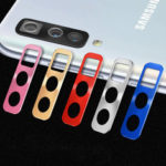 New              Bakeey Anti-scratch Metal Circle Ring Phone Camera Lens Protector for Samsung Galaxy A50