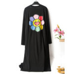 New              Women Loose Cotton Long Sleeve O-Neck Breathable Nightgown