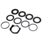 New              10 in 1 Lens Filter Adapter Holder with 49/52/55/58/62/67/72/77/88mm Lens Adapter Ring