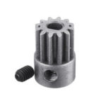 New              HG JK801-43 Powder Alloy Motor Gear 12T for P408 1/10 RC Car Spare Parts