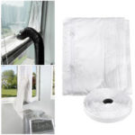 New              Universal Air Locks Window Seal Cloth for Mobile Air Conditioners with Adhesive Tape