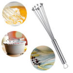 New              Stainless Steel Ball Whisk Egg Beater Hand Stirrer Mixer Cream Sauce Whipping