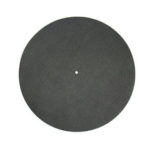 New              290mm Antiskid and Antistatic LP Vinyl Record Pad for CD Player