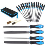 New              20Pcs Needle File Set Jeweler Wood Carving Steel Hand Tools Kit DIY with Bag