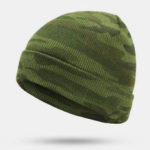 New              Men's Camouflage Wool Hat Pullover Hat