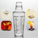 New              700ML Professional Transparent Plastic Margarita Drink Shaker Mixer Party Cocktail Shaker Bartending Tools Supplies Bartender Drink Mixer