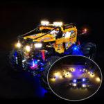 New              LED Light Lighting Kit ONLY For LEGO Technic 42099 4×4 X-Treme Off-Roader Toys