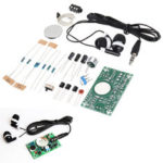 New              5pcs DIY Electronic Kit Set Hearing Aid Audio Amplification Amplifier Practice Teaching Competition Electronic DIY Interest Making