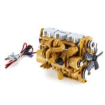 New              HG 6ASS-P01 Zinc Alloy Diesel Engine 1/12 Carburetor for P602 RC Car Vehicles Model Spare Parts