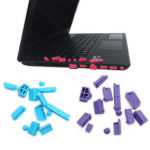 New              13PCS A Set Universal Laptop Dust Plug Laptop Notebook PC Silicone Computer USB VGA SD HDMI Ports Dust Proof Rubber Cover