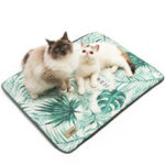New              Dog Cooling Mat Pet Cat Chilly Breathable Non-Skid Summer Cool Bed Pad Cushion Pet Carpet