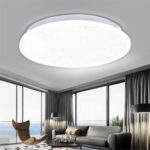 New              Bakeey 15W 20W 30W 220V Modern Simple Ceiling LED Lamp Ultra Thin Round Light For Smart Home