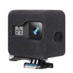 New              RUIGPRO Camera Windshield Noise Reduction Sponge Foam Cover For GoPro Hero 8 Black FPV Camera