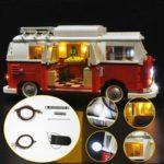New              Updated LED Light Lighting Kit For LEGO 10220 T1 Campingbus VW CAMPER VAN Bricks