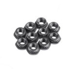 New              20 PCS Flywoo Plating Carbon Steel M3 Hexagonal Screw Insert Lock Nut  for RC Drone FPV Racing