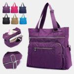 New              Women Large Capacity Nylon Waterproof Handbag Shoulder Bag