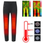 New              Intelligent 3Modes USB Electric Heating Pants Washable Thermostatic Thermal Trousers Winter Warm Pants for Man and Women