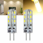 New              Kingso G4 1.5W Non-dimmable Warm White SMD3014 LED Light Bulb for Car Boat Chandelier Indoor Use