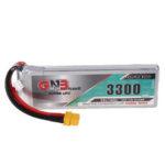 New              Gaoneng GNB 7.4V 3300mAh 90C 2S Lipo Battery XT60 Plug for Fixed Wing Vehicle RC Model