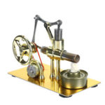 New              Mini Hot Air Stirling Engine Model Power Generator Motor Physics Educational Science Toy