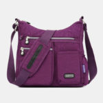 New              Women Waterproof Large Capacity Multi-layer Crossbody Bag