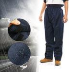 New              ZANLURE Waterproof Thick Adjustable Fishing Trousers Walking Rain Outdoor Wear Pants Fishing Clothing