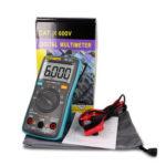 New              ZT101 Digital Multimeter Backlight AC/DC Ammeter 6000 counts AC/DC Ammeter Voltmeter Ohm Portable Meter voltage meter