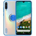 New              Bakeey Plating Transparent Ultra-thin with Finger Ring Holder Shockproof PC Protective Case for Xiaomi Mi A3 / Xiaomi Mi CC9e