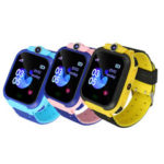 New              Q12B GSM SIM Smart Watch Phone Touch Camera Locator Alarm Anti-lost for Kids Children