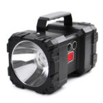 New              8000LM 500W Dual Head LED Super Bright Spotlight USB Rechargeable Powerful Searching Light