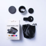New              Bakeey 2 in 1 37mm 0.45X UV Super wide angle + Macro Phone lens for ipad Mobile Phone Tablet