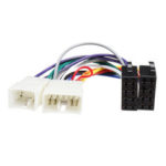 New              ISO Wiring Harness Stereo Radio Plug Lead Wire Loom Connector Adaptor For Toyota