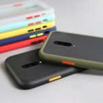 New              For OnePlus 7 Pro Case Bakeey Armor Shockproof Anti-fingerprint Matte Translucent Hard PC&Soft TPU Edge Protective Case