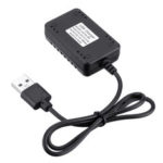 New              Wltoys 7.4V 2000mAh Battery Charger Fast USB Charging Cable 12428 144001 A959 RC Car Parts