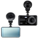 "New              4.0"" 1080P Touch FHD Dual Lens Car Vehicle Dash Cam Video Recorder DVR G-Sensor"