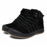 New              Winter Men's Plus Velvet Cotton Ankle Boots Climbing Hiking Anti-slip Warm Sports Shoes