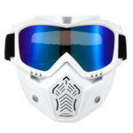 New              Helmet Face Mask Goggles Eyewear Glasses Windshield For Motorcycle Bike MTB Dirt Bike Riding